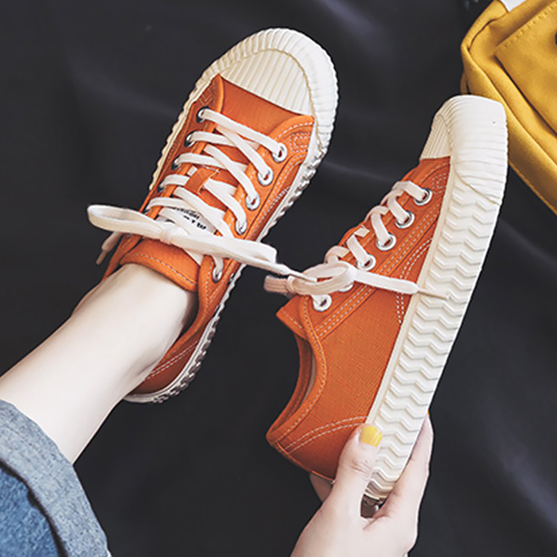 Women Shoes Canvas Sneakers Light Weight Fashionable Womens Sneaker 2020 New Arrival Nonslip Summer Footwear