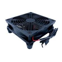 Охлаждающий usb роутер радиатор постоянного тока 5 В защитная