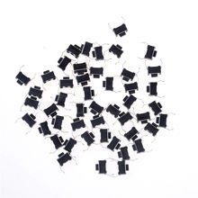 3*6*4.3 Panel PCB Momentary Tactile Tact Push Button Micro Switch 30pcs 2 Pin DIP Light Touch Keys Keyboard(China)