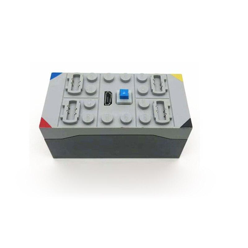 canais bateria de lítio caixa blocos de