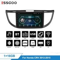 Essgoo Android 8.1 Car Radio Central Multimidia Video Player Navigation GPS 2 Din for Honda CR V CRV 2012 2015 WIFI Auto Audio