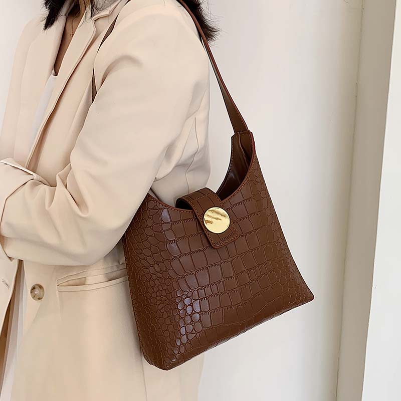 Stone Pattern PU Leather Crossbody Bags For Women 2019 Small Handbags Simple Solid Color Totes Lady Hand Bag Phone Purses