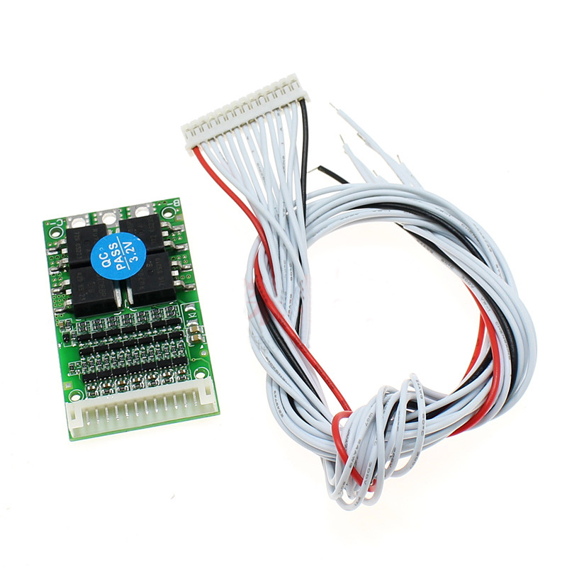 6S/7S/13S 24V 36V 48V Polymer Lithium/Ternary Lithium/ Iron Phosphate/LiFePo4 25A Same Port BMS Board Battery Protection Board