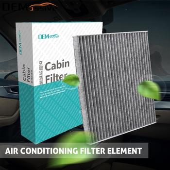 Akcesoria samochodowe pyłek filtr powietrza kabinowego dla Toyota Avensis Verso Corolla Verso 2005 2006 2007 2008 2009 88568-02030 87139-YZZ07 tanie i dobre opinie OEMASSIVE CN (pochodzenie) Cabin Air Filter Compartment 1 inch Activated Carbon Filter Cloth 88568-02030 87139-YZZ07 88568-12020