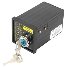 Generator Controller, Sturdy Durable DSE501K DC 9-33V 15-305V AC Generator Electronic Controller Start Module Control Panel generator set auto start controller module 703 dse703