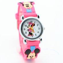 Новое поступление 3d мультфильм Минни дизайн модные часы для