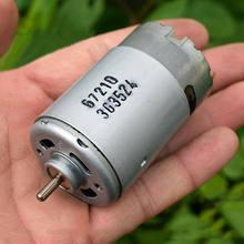 Johnson RS-550 dc 12 v-18 v 14.4 v 24000 rpm motor de broca elétrico de alta velocidade