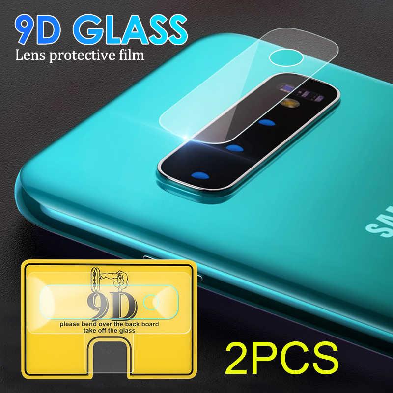 2 pçs para samsung galaxy s10e s10 + s10 plus 9d câmera protetor de tela para samsung galaxy a30 a20 a50 a70 câmera lente filme