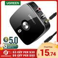 UGREEN Bluetooth Receiver 5.0 Wireless Auido Music 3.5 mm RCA APTX LL Low Latency Home Music Streaming Sound 3.5mm 2RCA Adapter