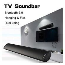 بلوتوث 5.0 FM مكبر الصوت مكبر الصوت اللاسلكي 20 واط المسرح المنزلي العمود نظام الصوت المحيطي ستيريو الحائط المتكلم