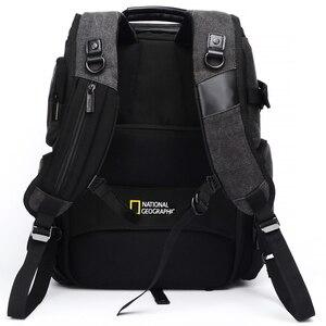 Image 5 - 내셔널 지오그래픽 NG W5072 가죽 카메라 가방 배낭 디지털 비디오 카메라 여행 가방에 대 한 대용량 노트북 운반 가방