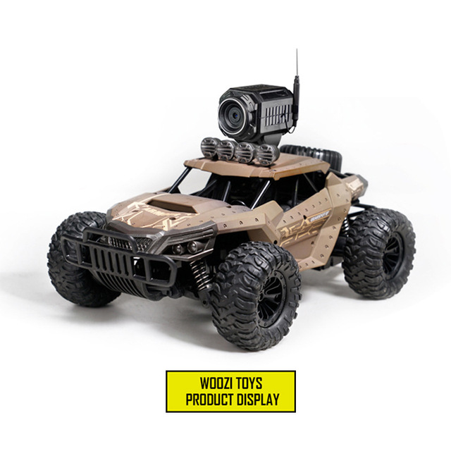 32Cm High-speed RC Rock Car with WIFI HD Camera Off-road Smart Vehicle Car Mobile Phone Control Car Model  Racing Buggy Toy 2