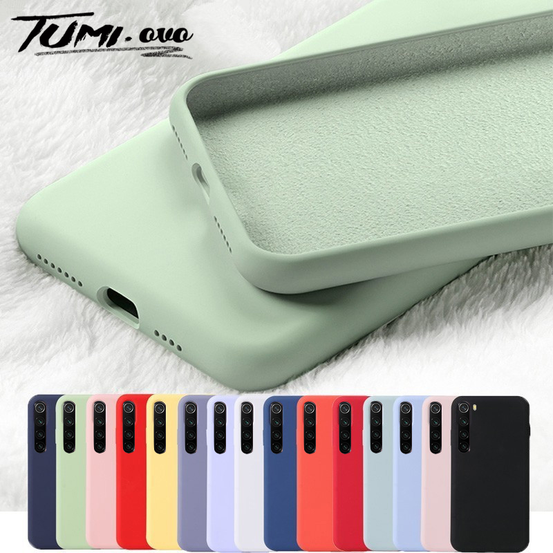Original Liquid Silicone Phone Case for Redmi note 8 7 Pro 8A 7A 6A 6 Go K20 Pro Cover for <font><b>Xiaomi</b></font> <font><b>Mi</b></font> <font><b>A3</b></font> A2 Lite A1 9 8 5X 6X CC9 image