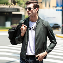 UCAK Brand Jacket Men Striped Pockets Casual Coats Streetwear 2020 Fashion Trend ChaquetasHombre Spring Autumn Jackets U8045