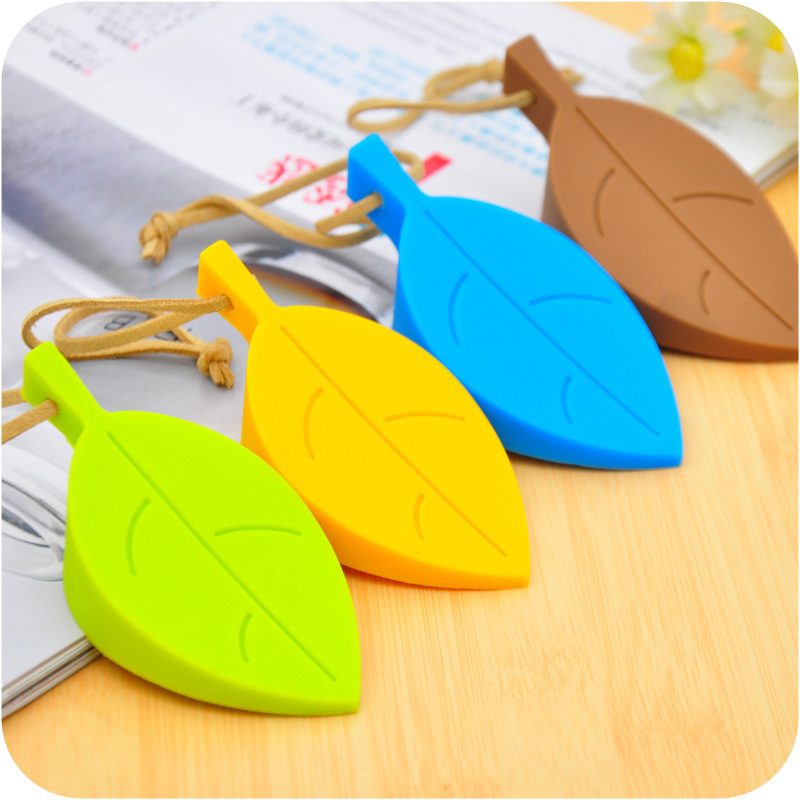 1PCS Mute Cartoon Silicone Leaf Shaped Door Stopper Holder Silicon Leaves Doorstop Safety For Children Baby Home Decorations