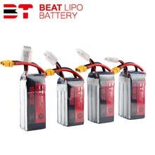 Beat Lipo Батарея 4S 6S 450/550/850/1000/1300/1500/мА/ч, 75C 95C 14,8 V 22,2 V для небольшой гоночный Дрон с видом от первого лица Квадрокоптер