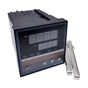 Image 4 - REX C100 intelligente PID regolatore di temperatura REX C100 C400 C700 C900 Termostato SSR Relè di uscita