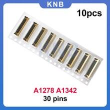 """10 قطعة جديد LCD شاشة الكابلات المرنة موصل 30Pin ل ماك بوك برو 13 """"A1278 2008 2009 2011 2012 A1342 2009 2010"""