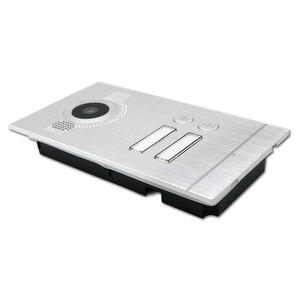 Image 4 - Homefong 7 inç Wifi görüntülü kapı telefonu daire görüntülü interkom sistemi kapı zili 2 düğme IP kablosuz erişim kontrol sistemi