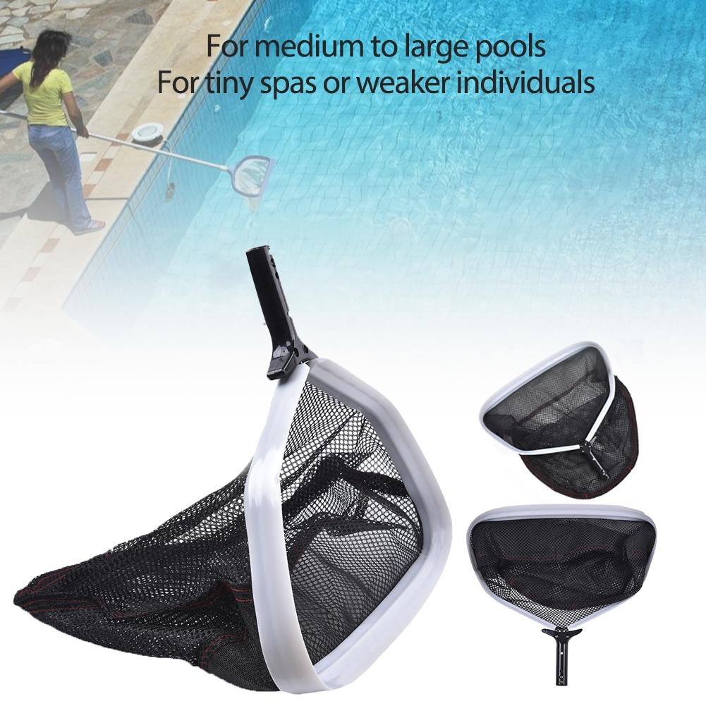 Pool Net Leaf Skimmer Fine Mesh Silt Sand Skimmer Leaf Rake Bag Swimming Pool Cleaning Tool Accessories  Pool Silt And Sand Pick