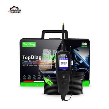 JDiag Power Pro P100 nowa generacja Tester obwodu elektrycznego dla samochodów samochody i ciężarówki tanie i dobre opinie ITCARDIAG CN (pochodzenie) P-100 3 9inch 10 6inch 9V to 70V Testery elektryczne i przewody pomiarowe 1 3kg 7 1inch TFT color display (160 x 128 dpi)