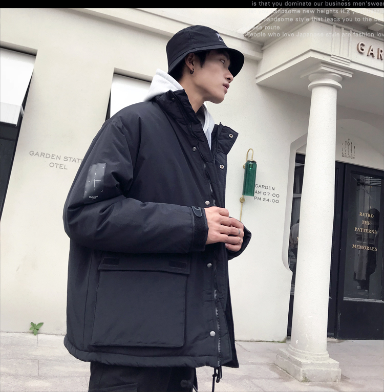 Men's Quality Student Winter Clothes Jacket Men Parka Thick Warm Outwear Korean Youth Streetwear Hip Hop Japan Style Harajuku 7