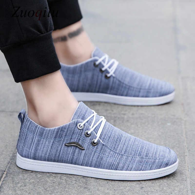 Merk Canvas Schoenen Mannen 2019 ademende mannen casual schoenen Sneakers Comfortabele Ademende Schoenen Mannelijke Schoenen Casual Rijden