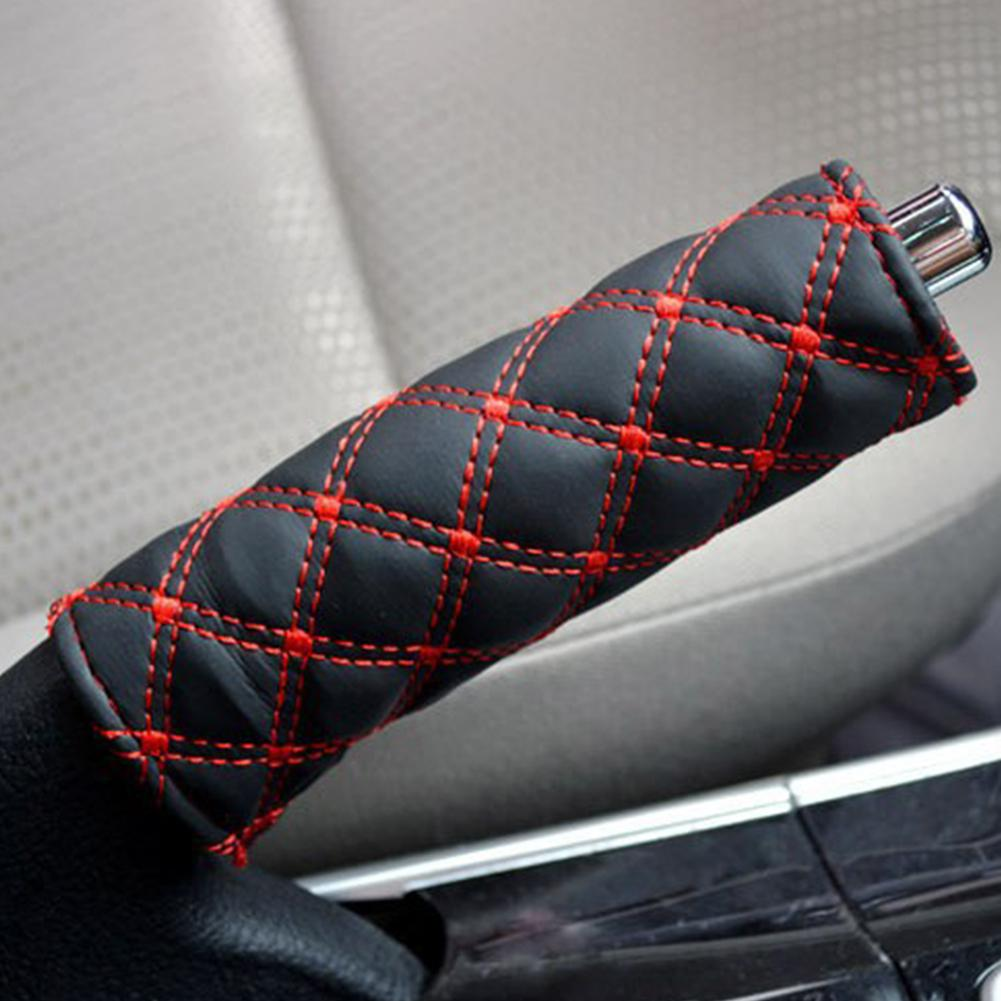 HobbyLane Car Interior Decoration Hand Brake Automatic Manual Transmission Handle Cover Trim
