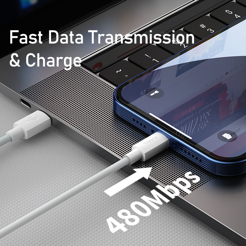 USB C Cable for iPhone 12 11 20W PD Fast Charge USB C to Lighting Cable for iPhone 8 Xr Charger Data USB Type C Cable 5