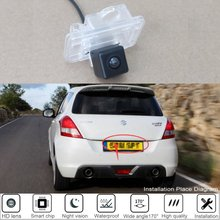 Car Rear View Reverse Camera For Suzuki Swift Sport 2014 2015 2016 For Parking Backup Camera