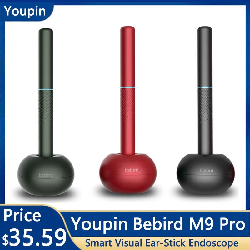 Youpin Bebird M9 Pro умный визуальный эндоскоп с ушной палкой 300 Вт Высокоточный эндоскоп с магнитно заряженной базой 300 мАч Смарт-гаджеты      АлиЭкспресс