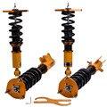 24-способов койловеров снижение Наборы для Nissan Sentra X-Trail B15 2000-2006 Подвески амортизаторы Наборы снижение спиральная пружина