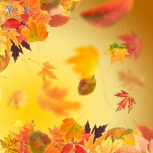 Yeele Photography Autumn Backdrop Forest Light Bokeh Baby Shower Children Background For Photo Studio Photocall Photophone