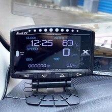 Lufi X1 gauge OBD 2 licznik samochodowy prędkościomierz cyfrowy miernik temperatury wody uniwersalny Auto accessiores