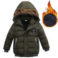 2019 herbst Winter Baby Jungen Jacke Jacke Für Jungen Kinder Jacke Kinder Mit Kapuze Warme Oberbekleidung Mantel Für Jungen Kleidung 2 3 4 5 jahre