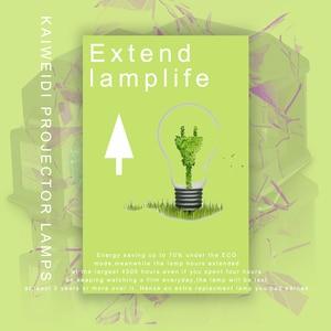 Image 3 - Compatible pour ELPLP41 EMP S5 EMP S52 EMP T5 EMP X5 EMP X52 EMP S6 EMP X6 EMP 260 EB S6 lampe De Projecteur V13H010L41 pour Epson