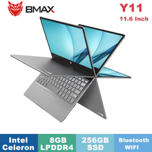 BMAX Y11 Laptop 11.6 Inch Ultra-Thin Notebook Quad Core Intel N4120 1920*1080 IP