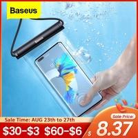 Baseus-funda de teléfono resistente al agua, funda de protección Universal para iPhone 12 11 Pro Max Samsung Xiaomi Redmi