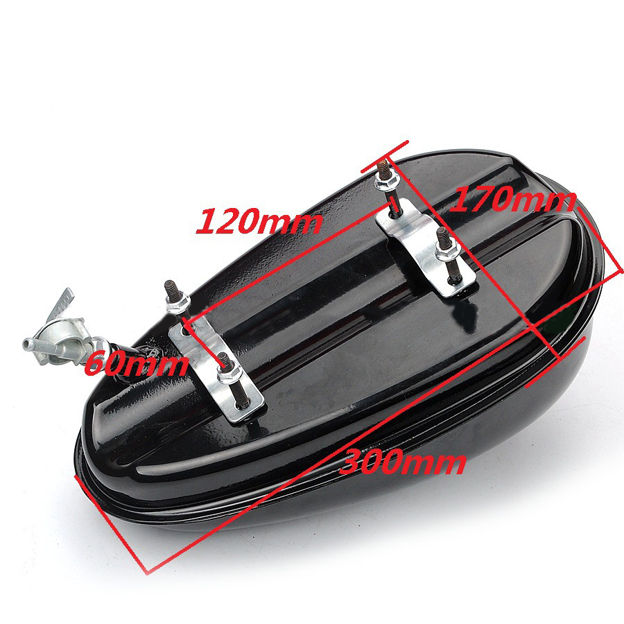 2019 Durable Auto Parts Metal Motorcycle Gas Tank Replacement Parts Accessory 3L Petrol Switch