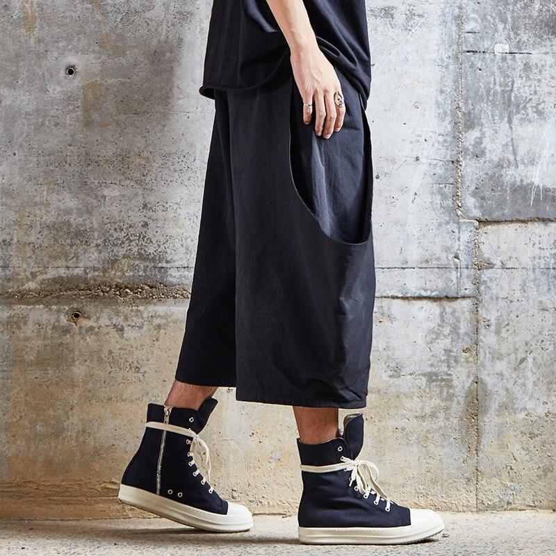 Origional Design 2019 Summer New Style Yohji Yamamoto Style Dark Men's Trousers Loose Pants Casual Pants
