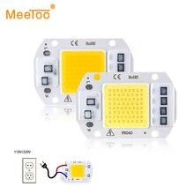 Светодиодный чип COB 50 Вт, 30 Вт, 20 Вт, 10 Вт, 3 Вт, 5 Вт, 7 Вт, 9 Вт, мощный светодиодный чип, 220 В, Диодная лампа, мощный светодиодный s светильник, матричный светильник для наводнения, точечный светильник