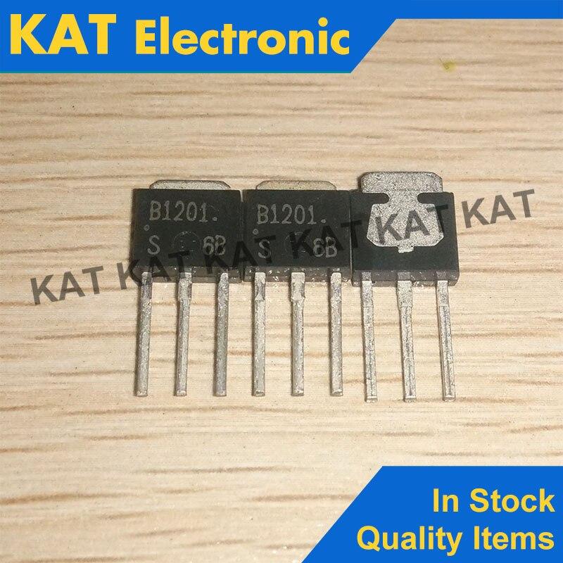 5PCS/Lot 2SB1201 B1201 2SB1201T  TO-251 New Original PNP/NPN Epitaxial Planar Silicon Transistors