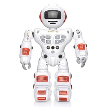 Bluetooth Rc Toy Robots Remote Control Toys Intelligent Robotics Dancing Singing Gesture Sensing Recording Robot Toys Children jxd 1016a kib intelligent balance gesture control boxing drive rc robot wheelbarrow dancing toy gift