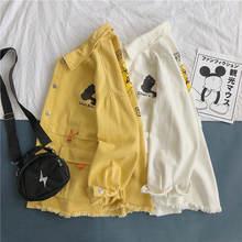 Новая весенняя новая Корейская Свободная куртка в стиле ins