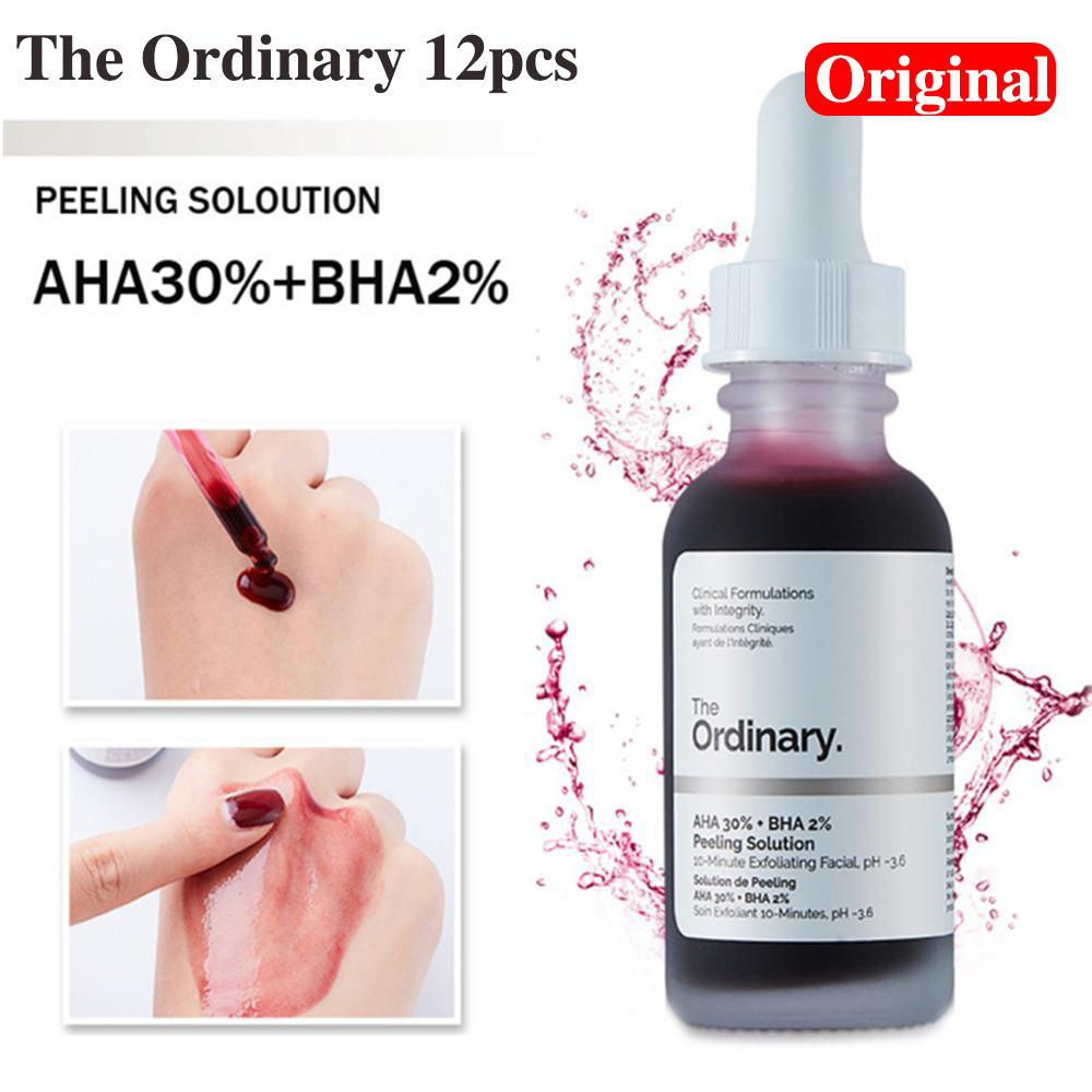 30ml*12Pcs The Ordinary Essence Foundation Makeup The Ordinary Make Up Whole Series Products Face Cream Fast Delivery Original