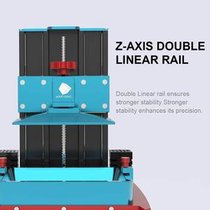 Image 5 - ANYCUBIC Photon S 3D Printer Dual Z axis Quick Slice 405nm Matrix UV Module SLA 3d Printer Resin Photon S Upgraded Impresora 3d
