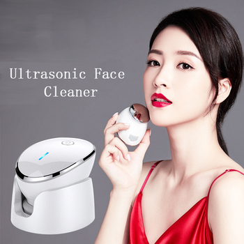 Ultrasonic Face Brush Deep Pore Cleansing Electric Facial Wash Machine Skin Rejuvenation Black Head Acne Removal Beauty Whitenin