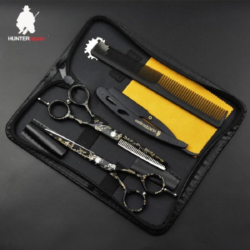 """30% off 6"""" sale japan hair scissor teflon shears HT9140 hairdressing scissors barber thinning scissors hairdresser razor haircut"""