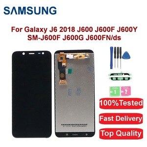 For Samsung Galaxy J6 2018 J600 J600F J600Y LCD Display For SM-J600F J600G J600FN/D LCD Display Touch Screen Digitizer Assembly