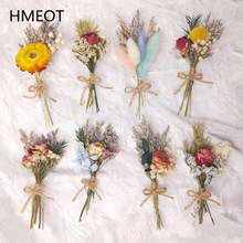 Flower Bouquet Grass Diy-Crafts Gypsophila-Plants Gifts Rose Pampas Natural Dried Home-Decoration